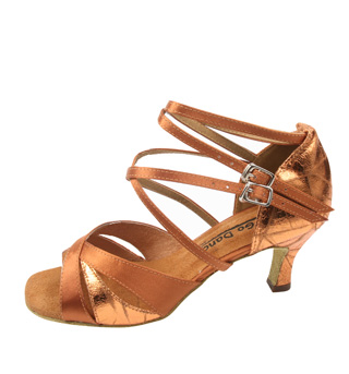 Slim Heel Latin Dance Shoe - Style No GO975