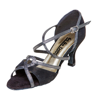Ladies Latin/Rhythm Ballroom Shoe w/2.75 Inch Heel - Style No GO977