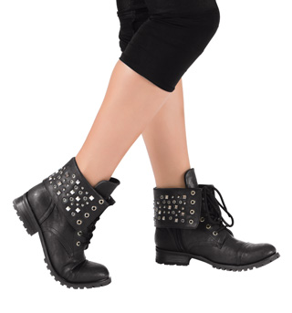 Girls Convertible Combat Boot - Style No GS10C