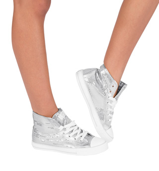 Adult Sequin High Top Sneaker - Style No HIDISCO