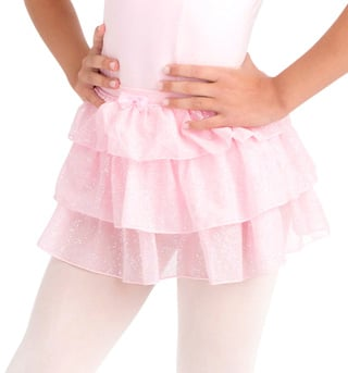 Child Tiered Skirt - Style No IM220C