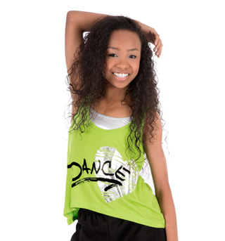 Child Relaxed Graphic Tank Top - Style No K110