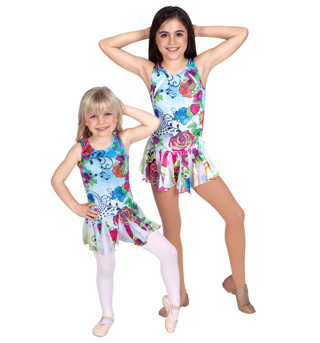 Child Sublimated Tank Dress - Style No K5001x