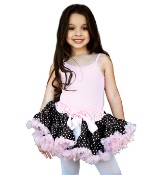 Child Polka Dot Petticoat Tutu - Style No K5027