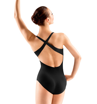 Adult Spliced Front Cross Back Leotard - Style No L3037