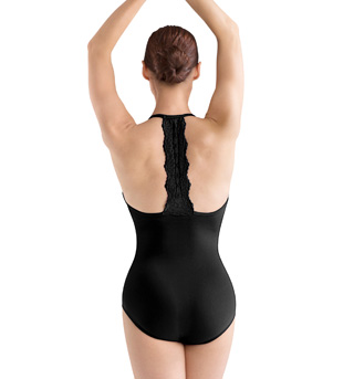 Adult Halter T-Back Leotard - Style No L3070