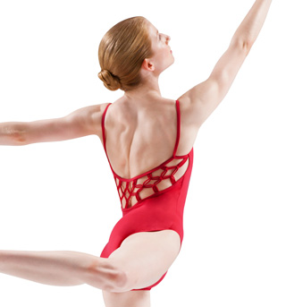 Adult Camisole Diamond Knot Back Leotard - Style No L6157