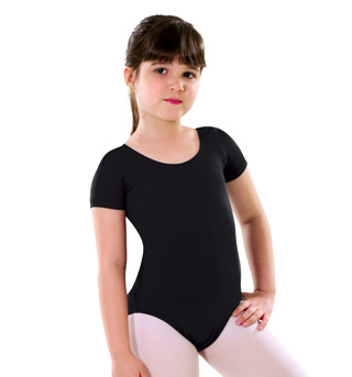 Girls Short Sleeve Leotard - Style No LO04