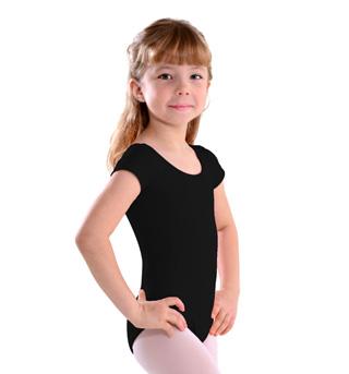 Girls Cap Sleeve Leotard - Style No LO06