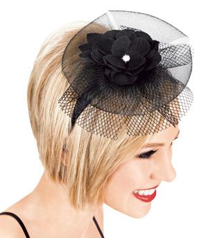 Flower & Net Headband - Style No LS200x
