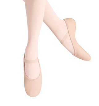 Girls Ballet Russe Full Sole Ballet Slippers - Style No LS2001G