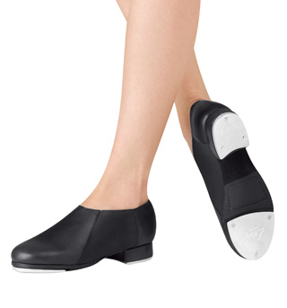 Adult Slip On Jazz Tap Shoes - Style No LS3007L