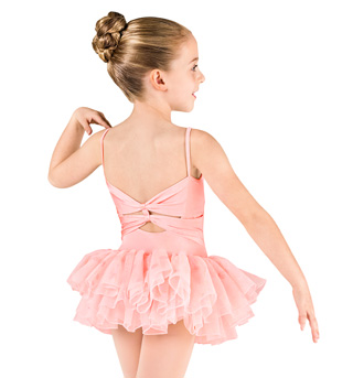 Child Spiral Sequin Tulle Camisole Tutu Dress - Style No M1060C