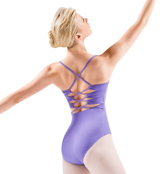 Adult Twist Cord Camisole Leotard - Style No M2058LM