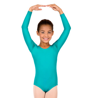 Girls Long Sleeve Leotard - Style No M2102C