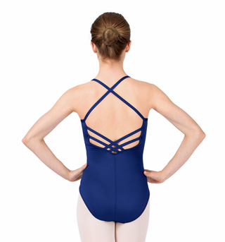 Adult Lattice Back Camisole Leotard - Style No M2680