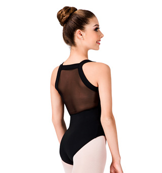 Adult Mesh Back Tank Leotard - Style No M4003LM