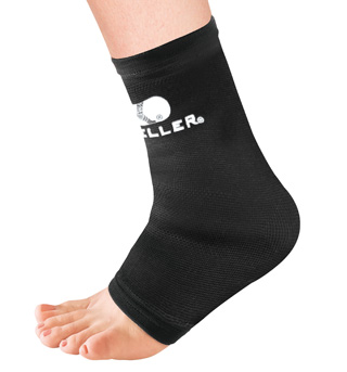 Black Elastic Ankle Support - Style No M4763x