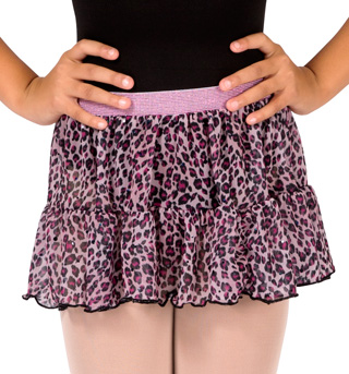 Girls Pull On Tiered Skirt - Style No M5683Cx