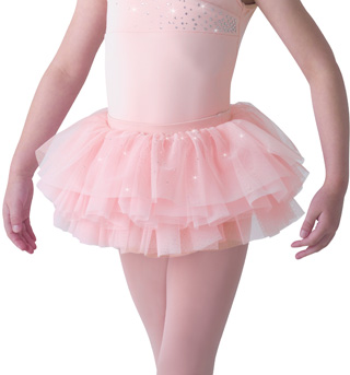 Child Diamante Sparkle Tutu Skirt - Style No MS58C