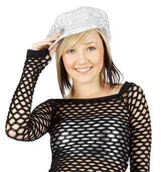 Sequin Cabbie Hat - Style No N7076x
