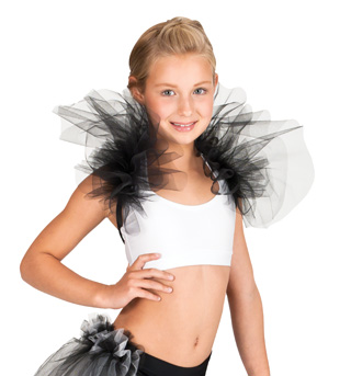 Child Shoulder Ruffle Shrug - Style No N7088C