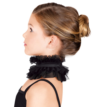 Child Mesh Ruffle Collar - Style No N7114C