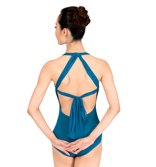Adult Emballe Halter Leotard - Style No N7138