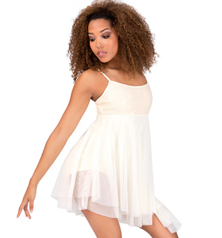Adult Asymmetrical Camisole Dress - Style No N7175