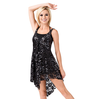 Adult Tank Sequin Lace Overdress - Style No N7182