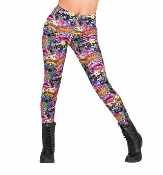 Adult Graffiti Leggings - Style No N7212