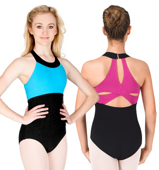 Adult Clover Strap Back Tank Leotard - Style No N8418