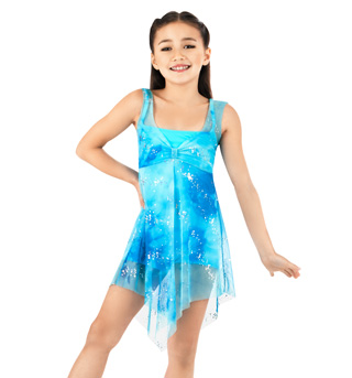 Child Overdress With Unitard  - Style No N8450C