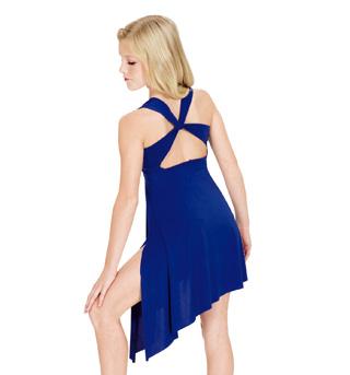 Child Twist Back Lyrical Dress - Style No N8600C