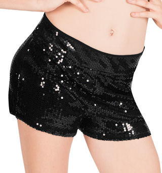 Adult Sequin Tap Dance Short - Style No N8645