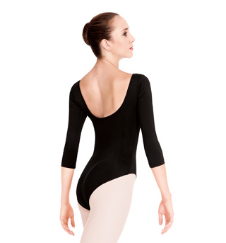 Adult 3/4 Sleeve High Cut Leotard - Style No N8726x