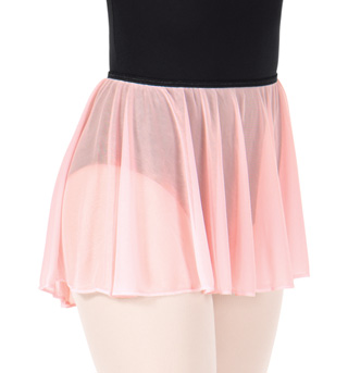 Adult Pull-On Mesh Ballet Skirt - Style No N8757