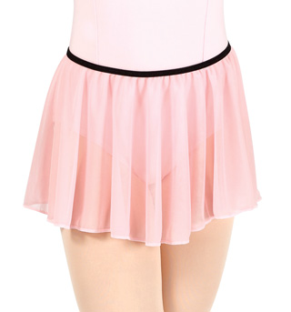 Girls Pull-On Mesh Skirt - Style No N8757C