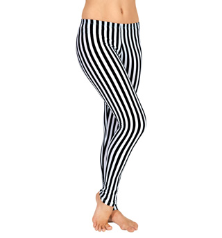 Adult Striped Leggings - Style No N8759