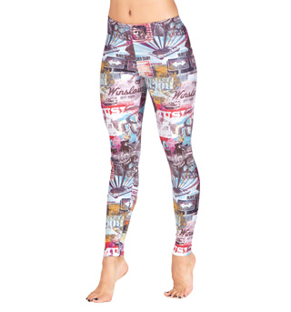Adult Route 66 Leggings - Style No N8815x