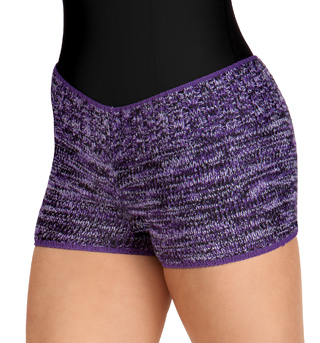 Adult Hipster Warm-Up Dance Shorts - Style No NTGSHRT