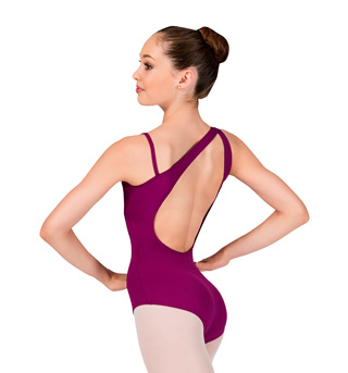 Adult Asymmetrical Camisole Leotard - Style No P344