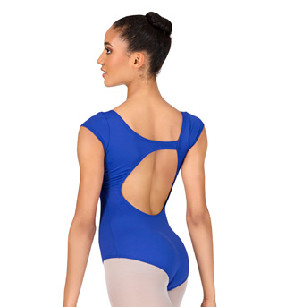 Adult Cap Sleeve Asymmetrical Leotard - Style No P346