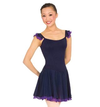 Adult/Child Flutter Sleeve Dress - Style No P715