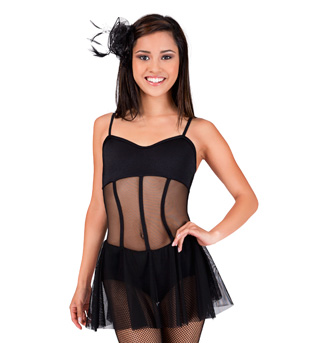 Adult Sheer Camisole Dance Dress - Style No P745