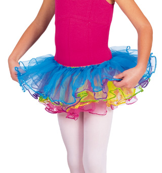 Child Rainbow Tutu Skirt - Style No PB28188C
