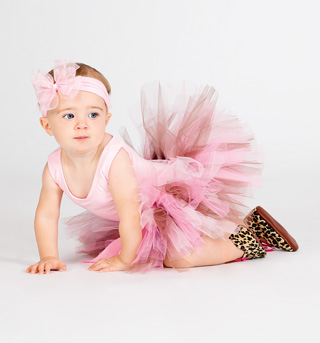Child Petite Princess Birthday Girl Tutu - Style No PPBG