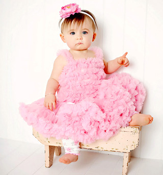 Toddler Ruffled Pettiskirt - Style No PSKIRTx
