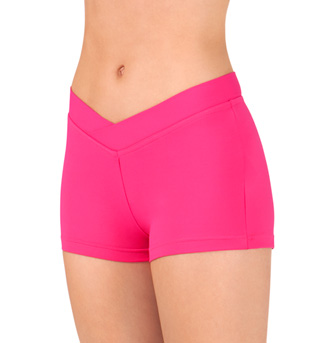 Adult Sporty Dance Shorts - Style No R2714