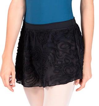 Adult Swirl Mesh Ballet Skirt - Style No R2811